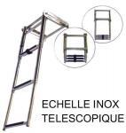ECHELLE INOX TELESCOPIQUE